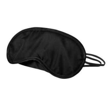 Pinata oogblinddoek/blinddoek zwart